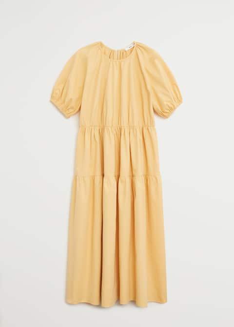 Φόρεμα φουσκωτά μανίκια - Προϊόν χωρίς μοντέλο