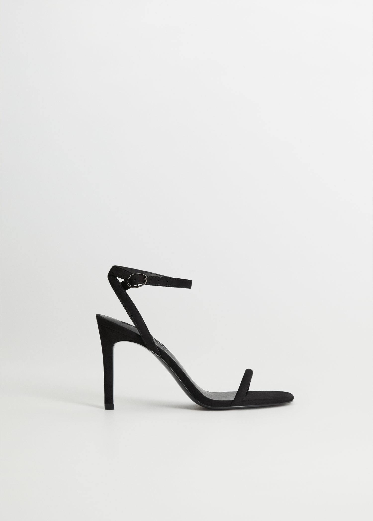 Sandália pulseira tornozelo Mulher | Sandals, Heels