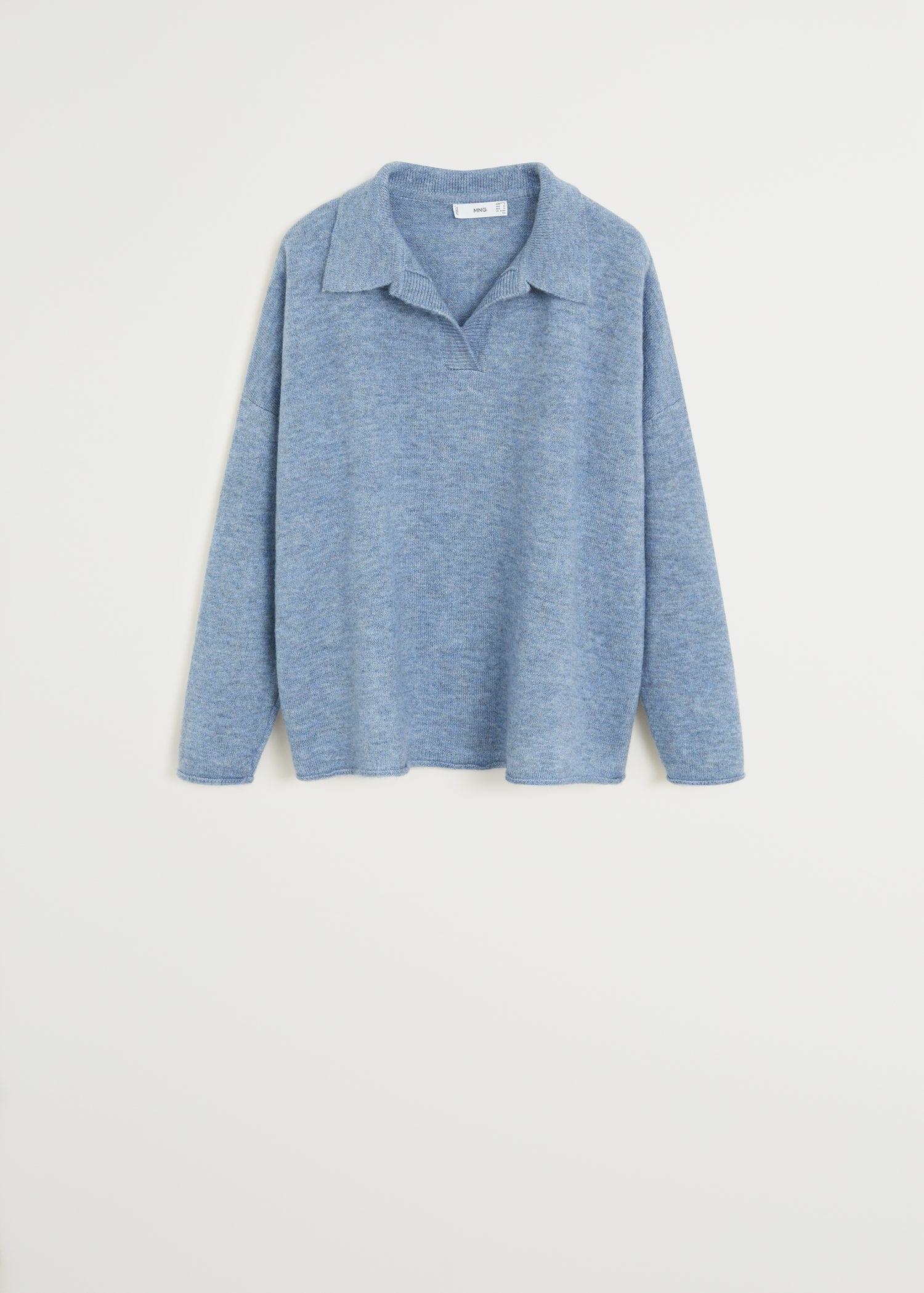 Pullover mit polo kragen Damen | Mango Schweiz
