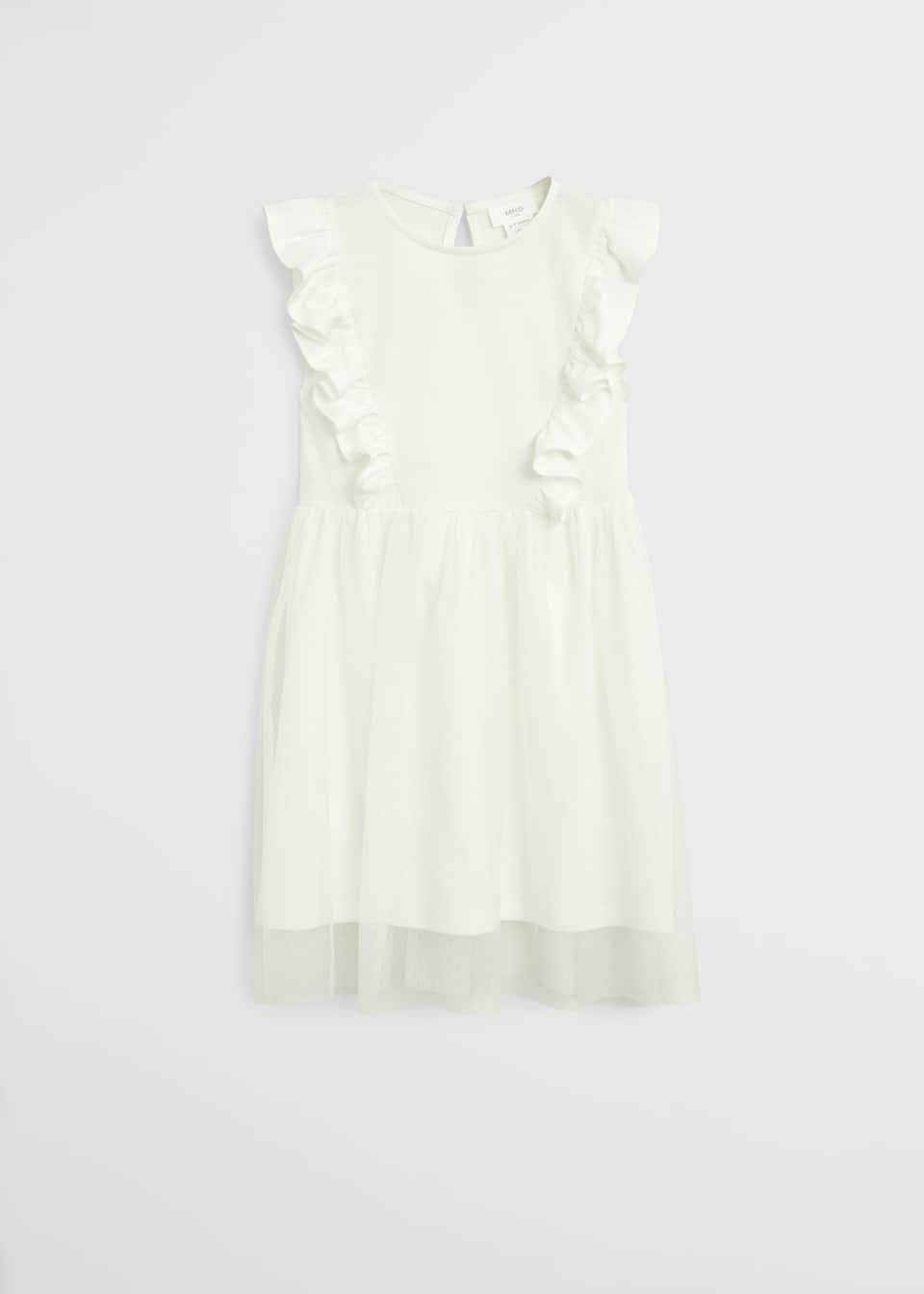 Kleid mit tüllrock - Mädchen  Mango Kids Österreich
