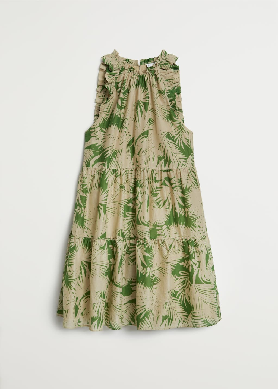 tropical print dress - women | mango usa