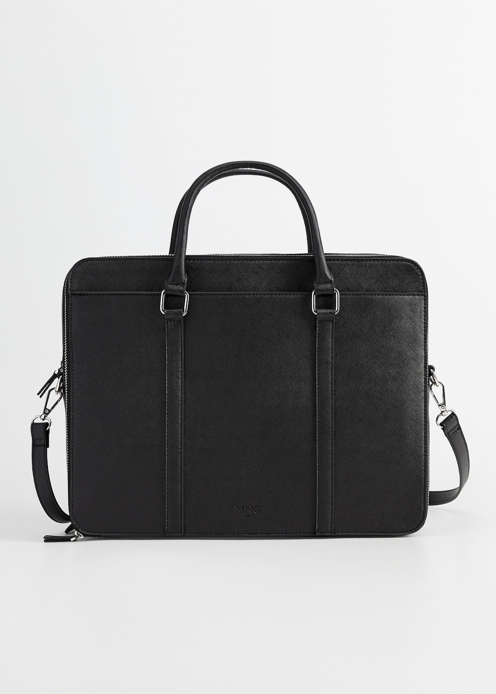 Inner Pocket Tote Briefcase by Mango