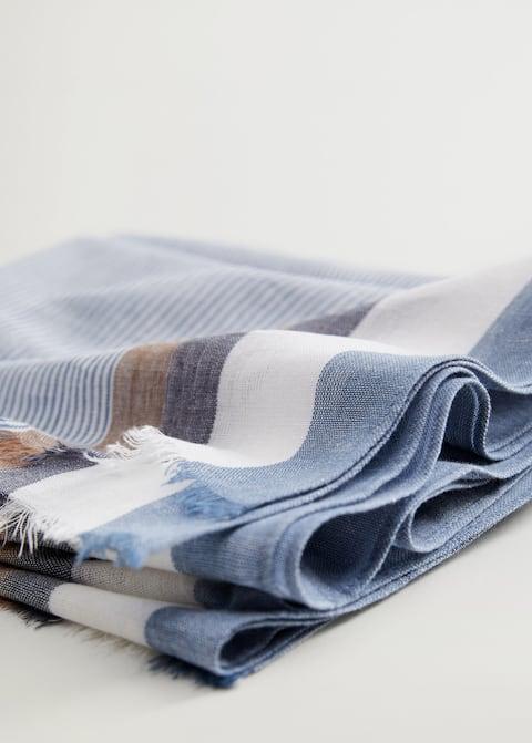 Fular algodón rayas - Detalle del artículo 2