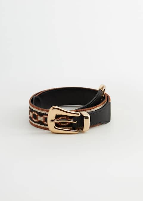 Cinturón combinado - Artículo sin modelo