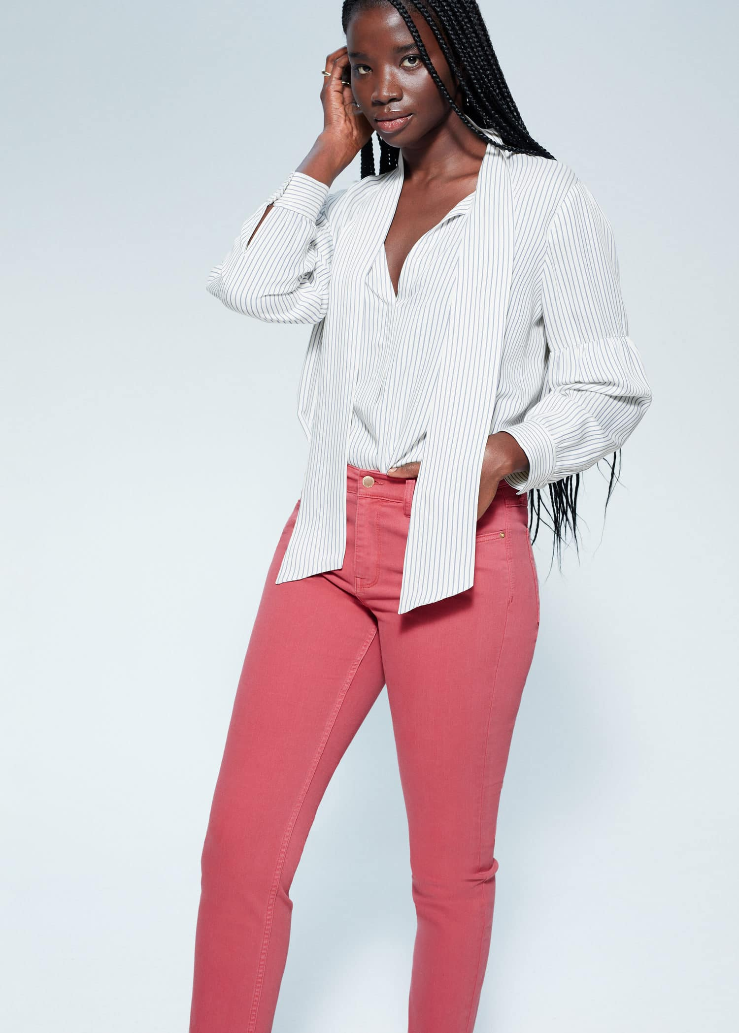 Slim fit jeans julia Store størrelser | Violeta by Mango