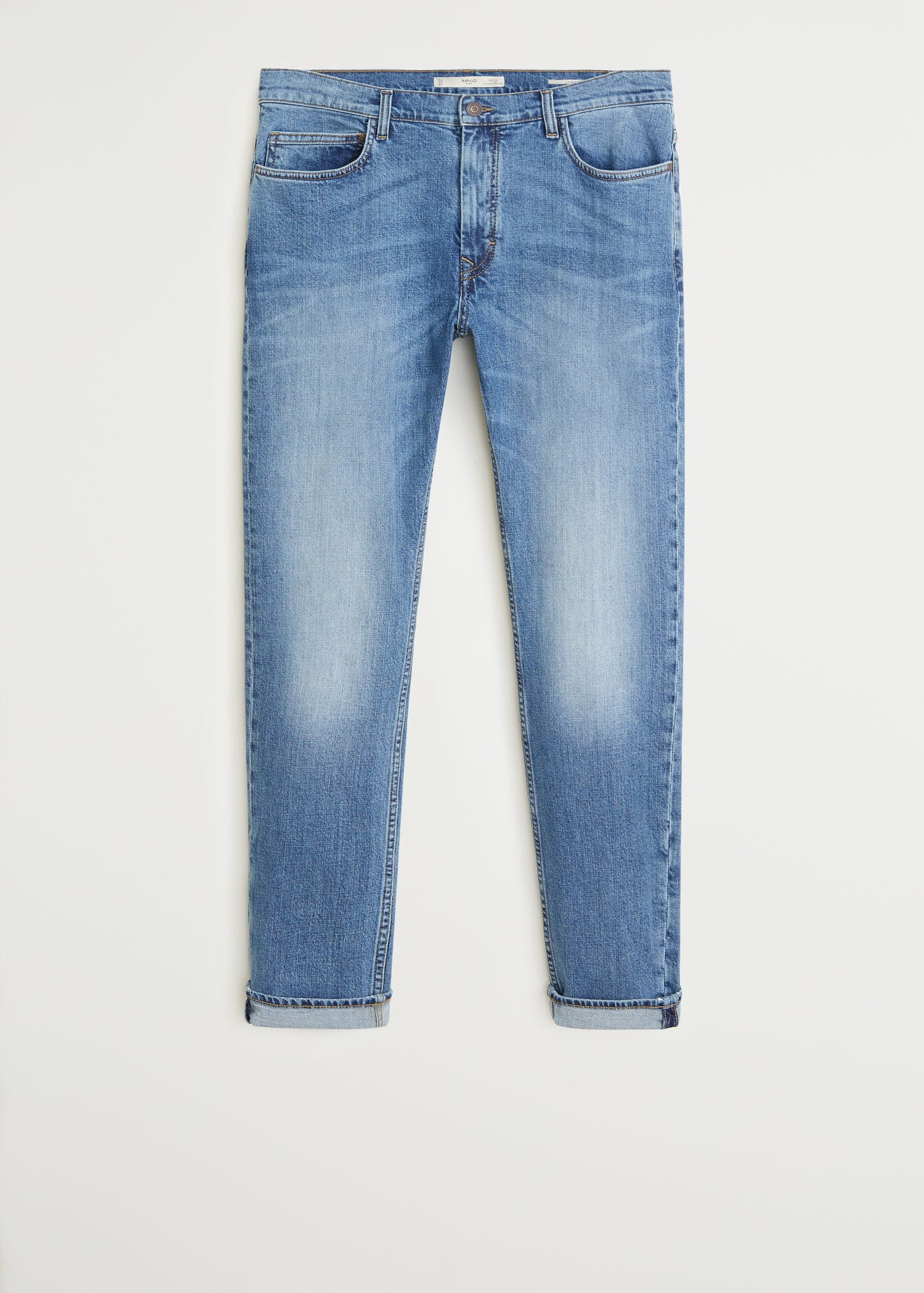Slim fit dark wash jan jeans Man | Mango Man Bermuda