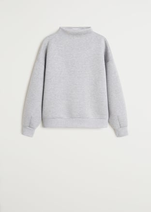 Funnel neck sweatshirt - Article without model