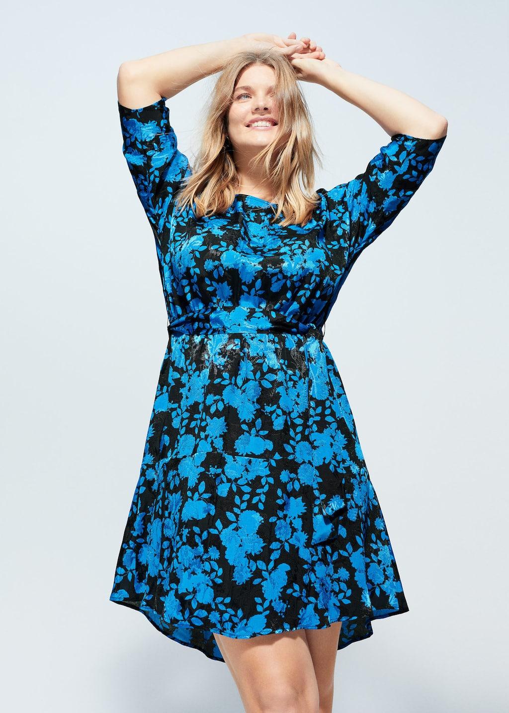 jurken grote borsten A-lijn