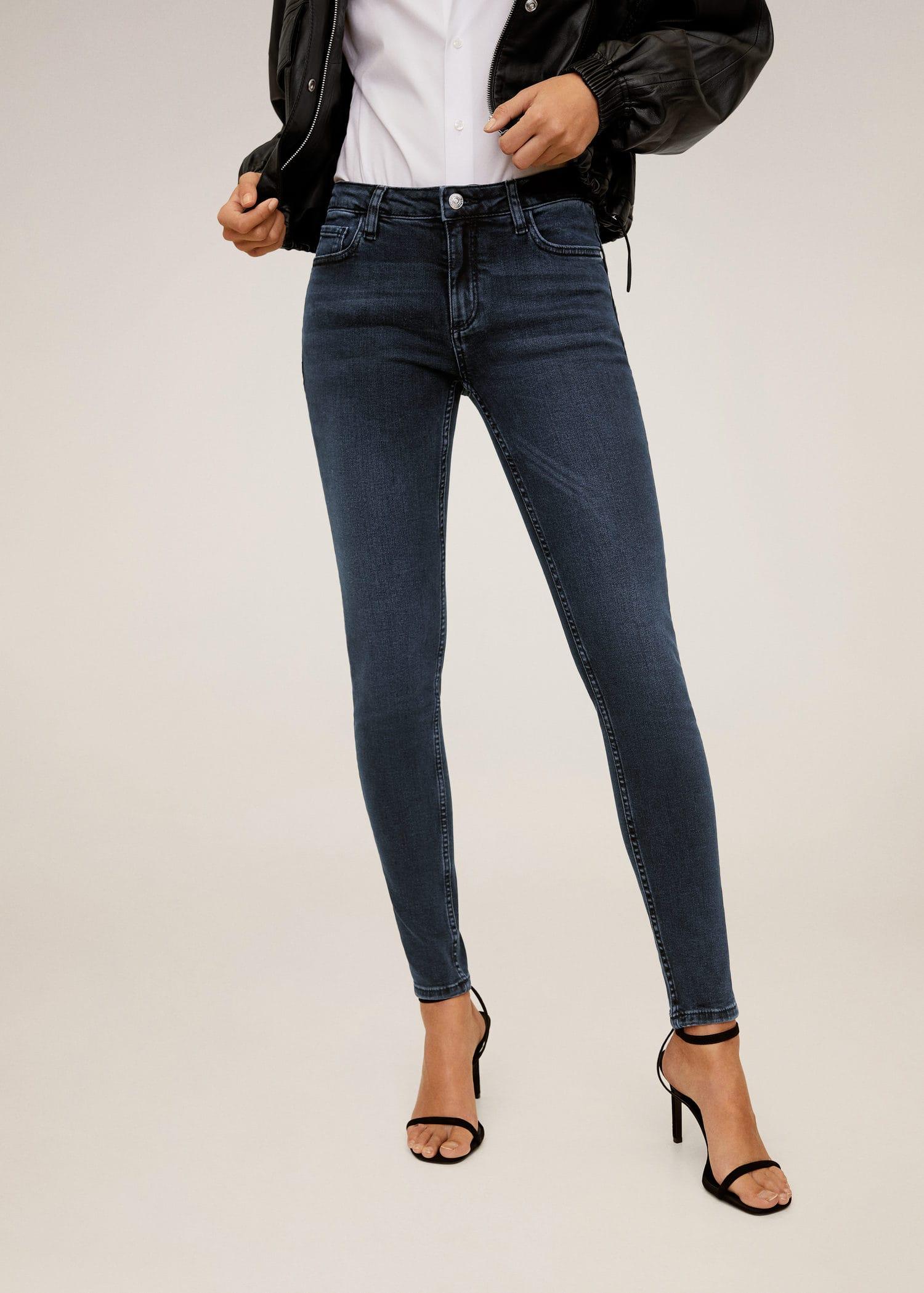 Jean skinny push up kim Femme | Mango France