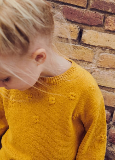 Cardigans And Sweaters For Baby Girls 2020 Mango Kids Indonesia