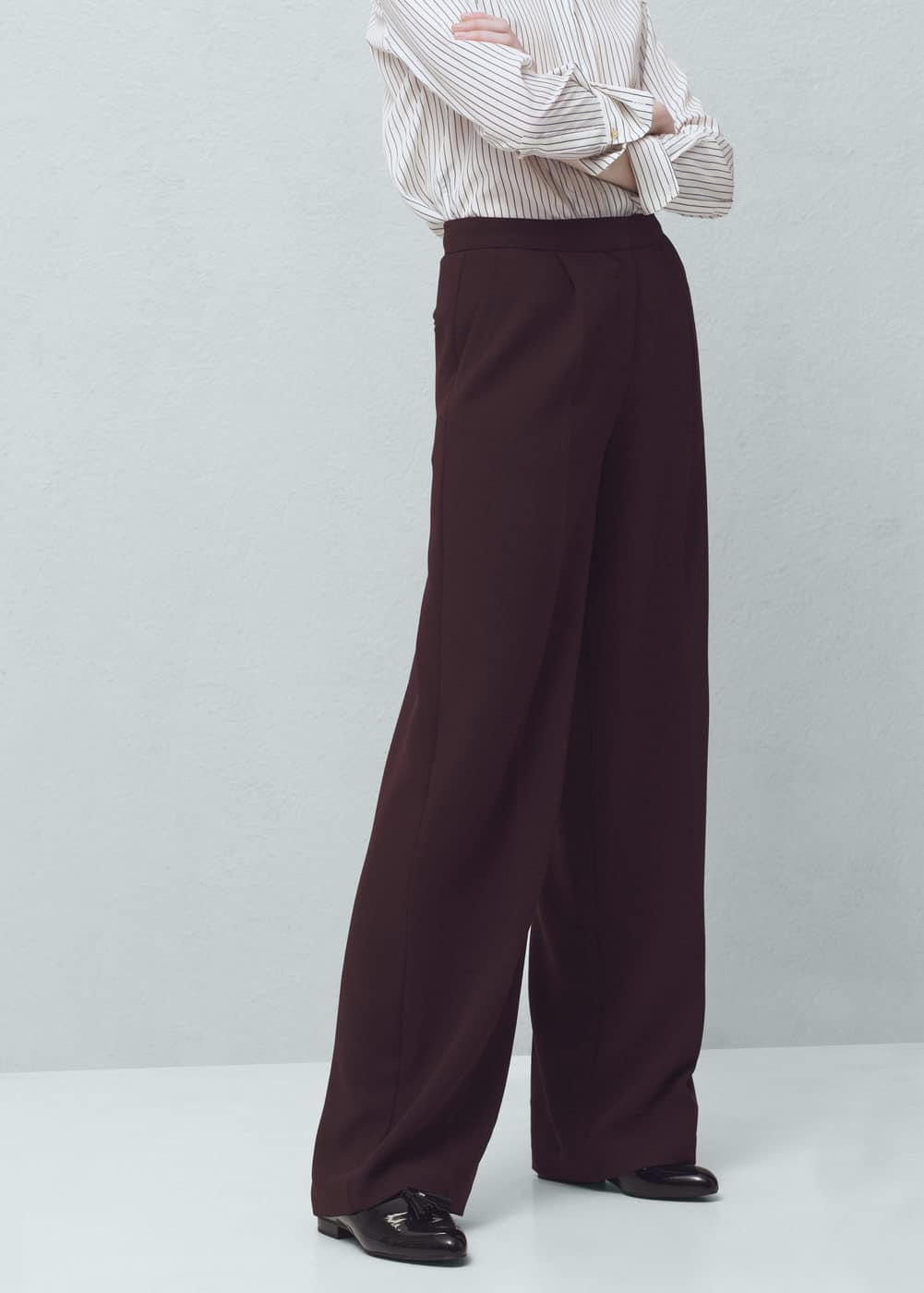Pleat detail trousers | MANGO