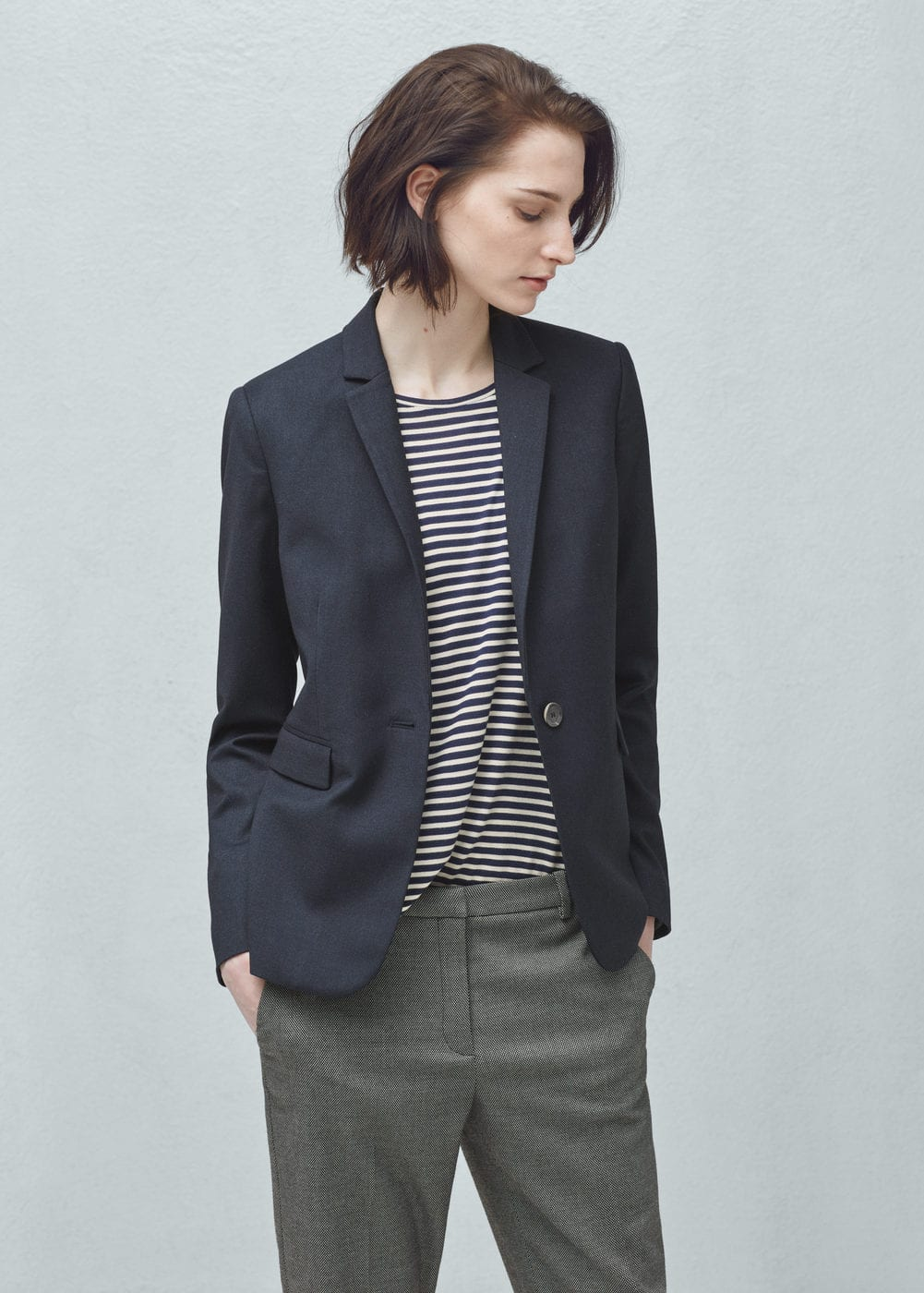 Flap pockets blazer | MANGO