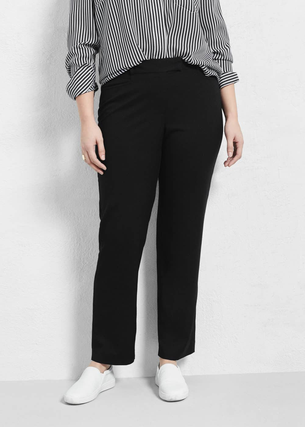 Straight suit trousers   VIOLETA BY MANGO