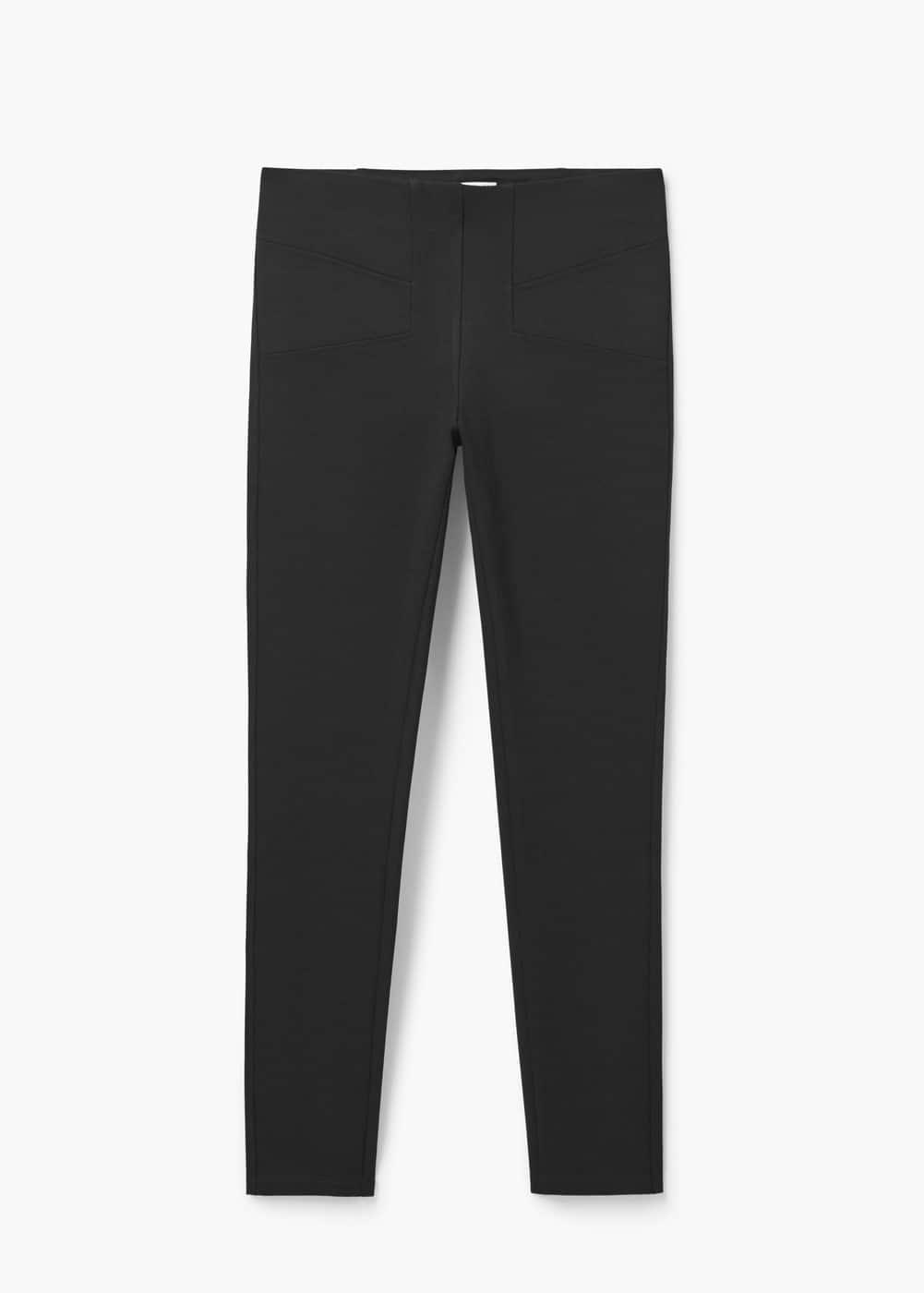 Decorative seam leggings | MANGO