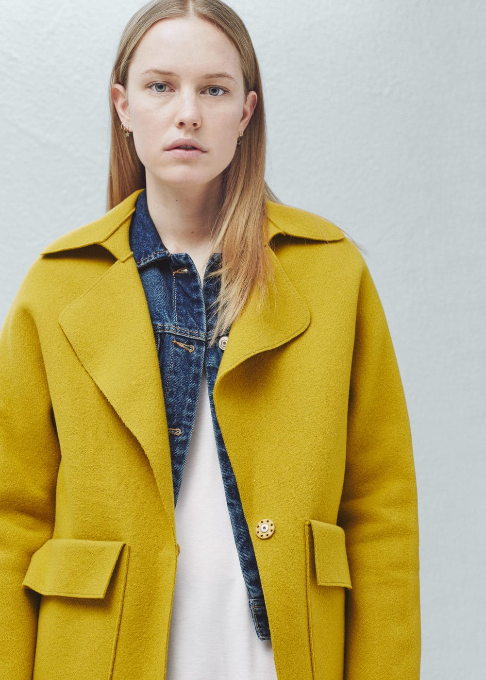 Pockets wool coat | MANGO