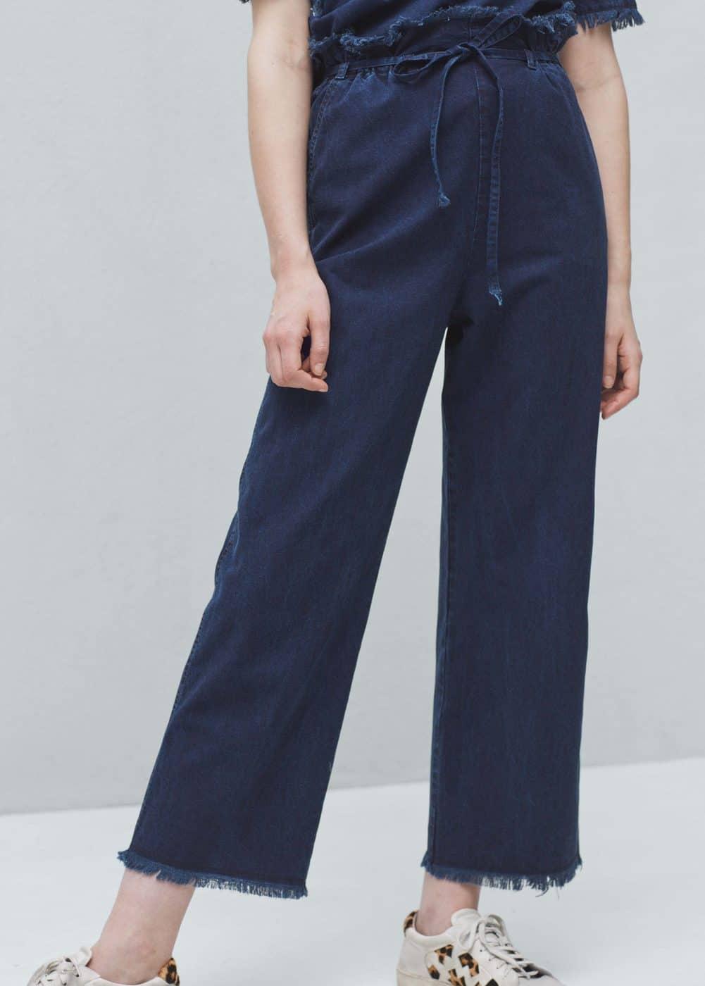 Denim trousers | MANGO