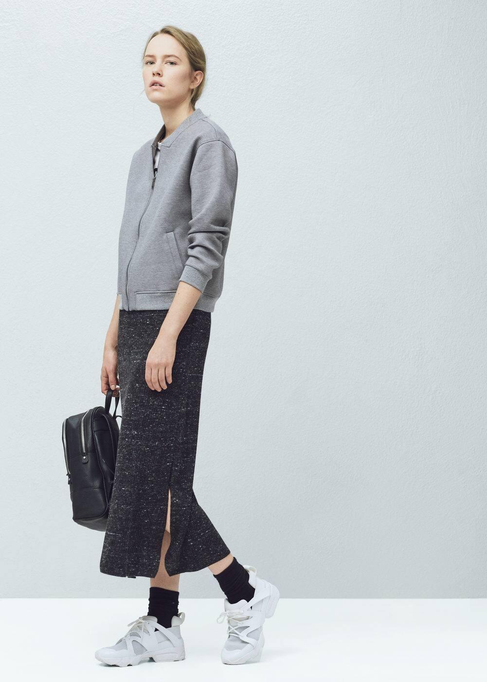 Side-pocket bomber jacket | MANGO