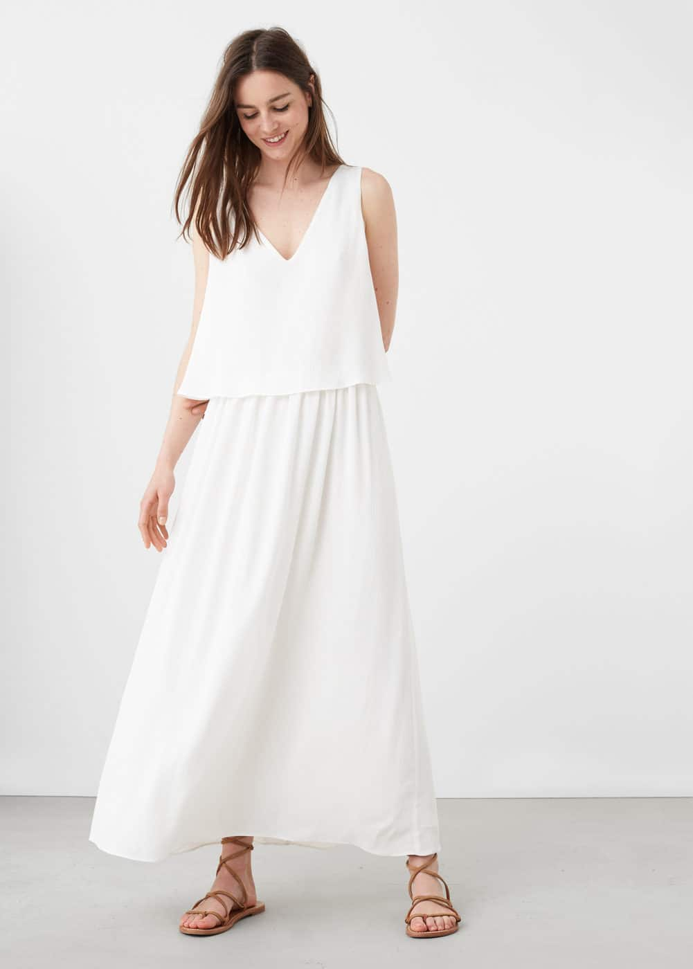 Double-layer gown | MANGO