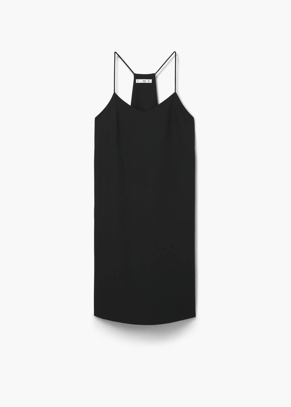 Sukienka wycięta na plecach | MANGO