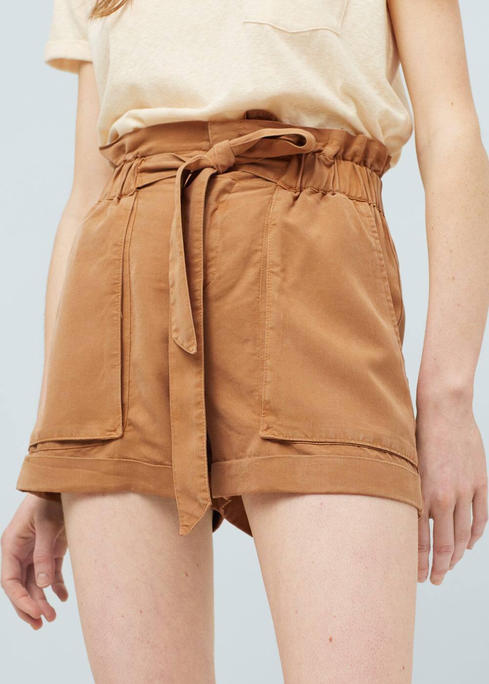 Soft fabric shorts | MANGO