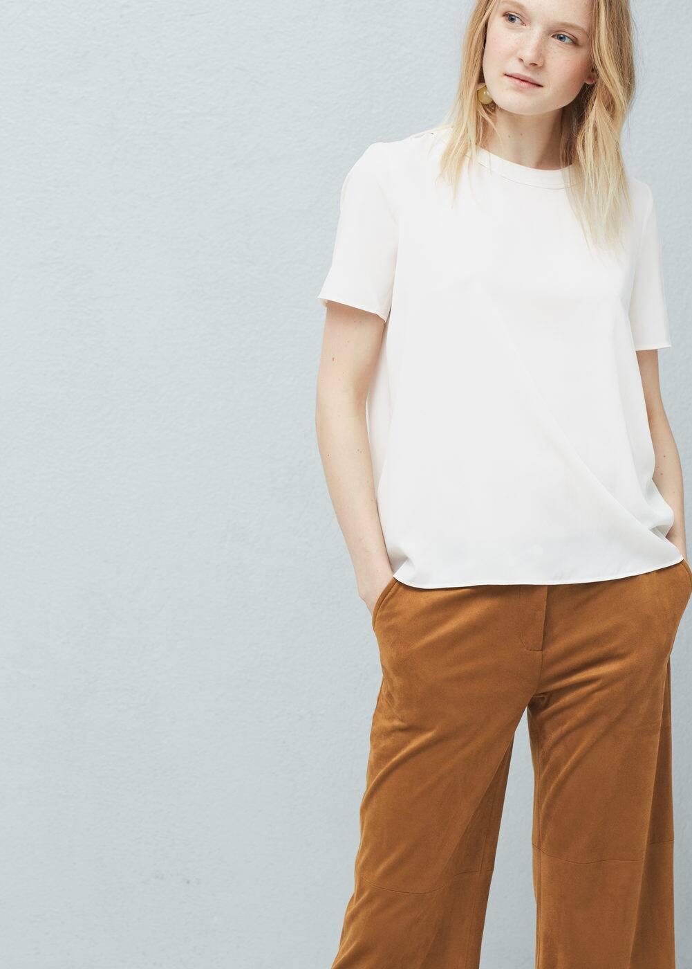 Flowy blouse | MANGO