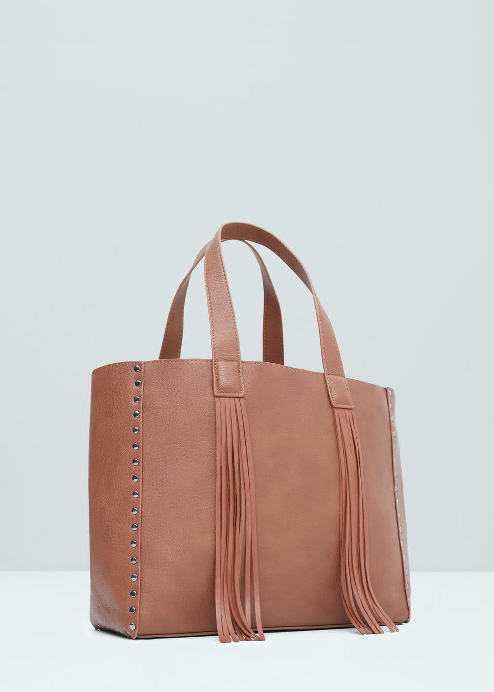 Fringed shopper bag | MANGO