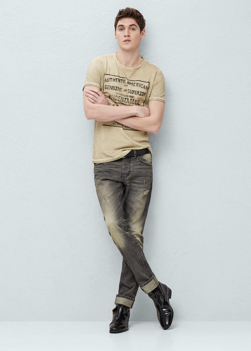 Straight-fit vintage marc jeans | MANGO