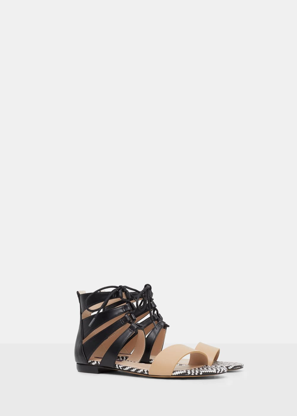 Braided sandal | VIOLETA BY MANGO