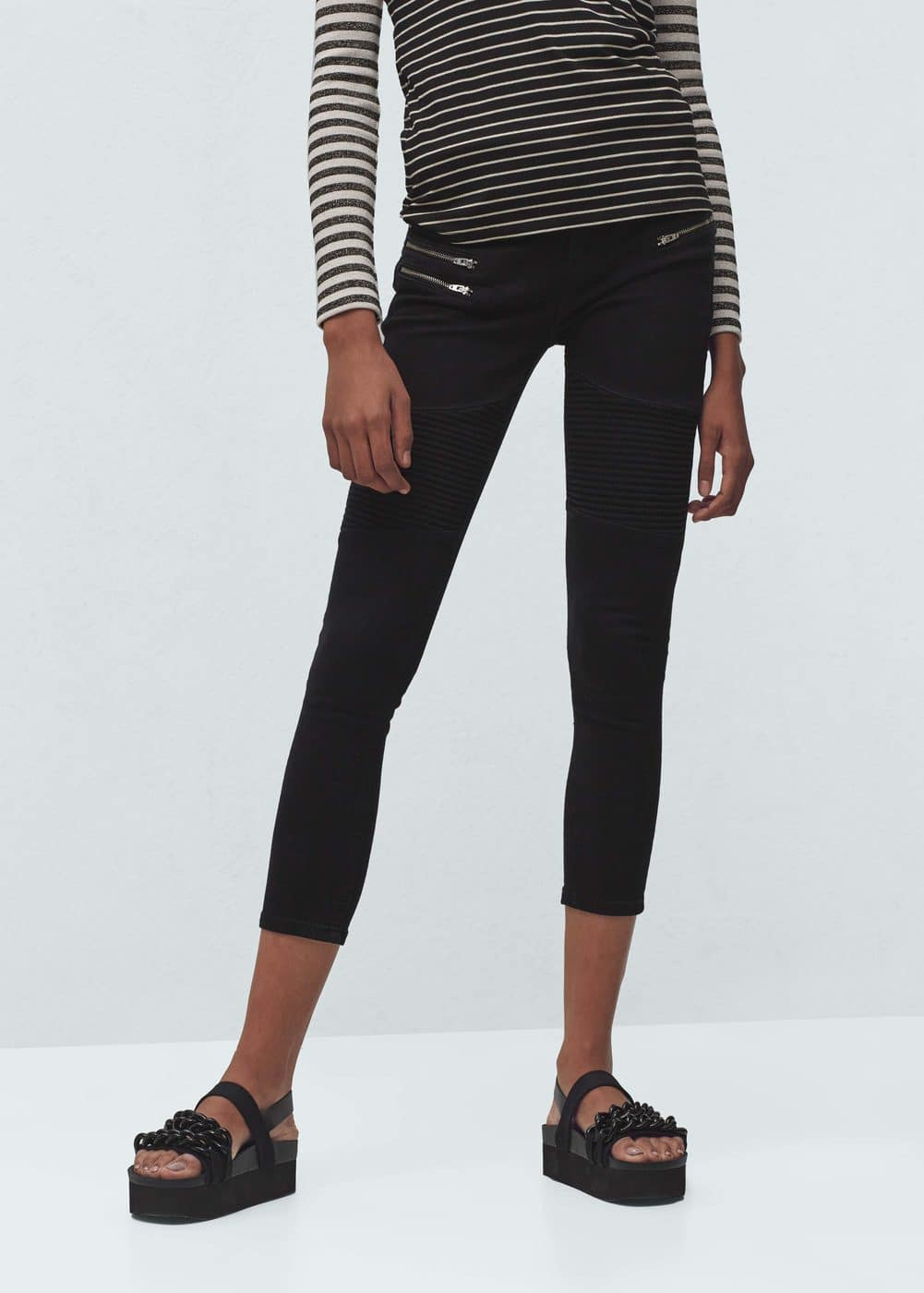 Super slim-fit biker jeans | MANGO