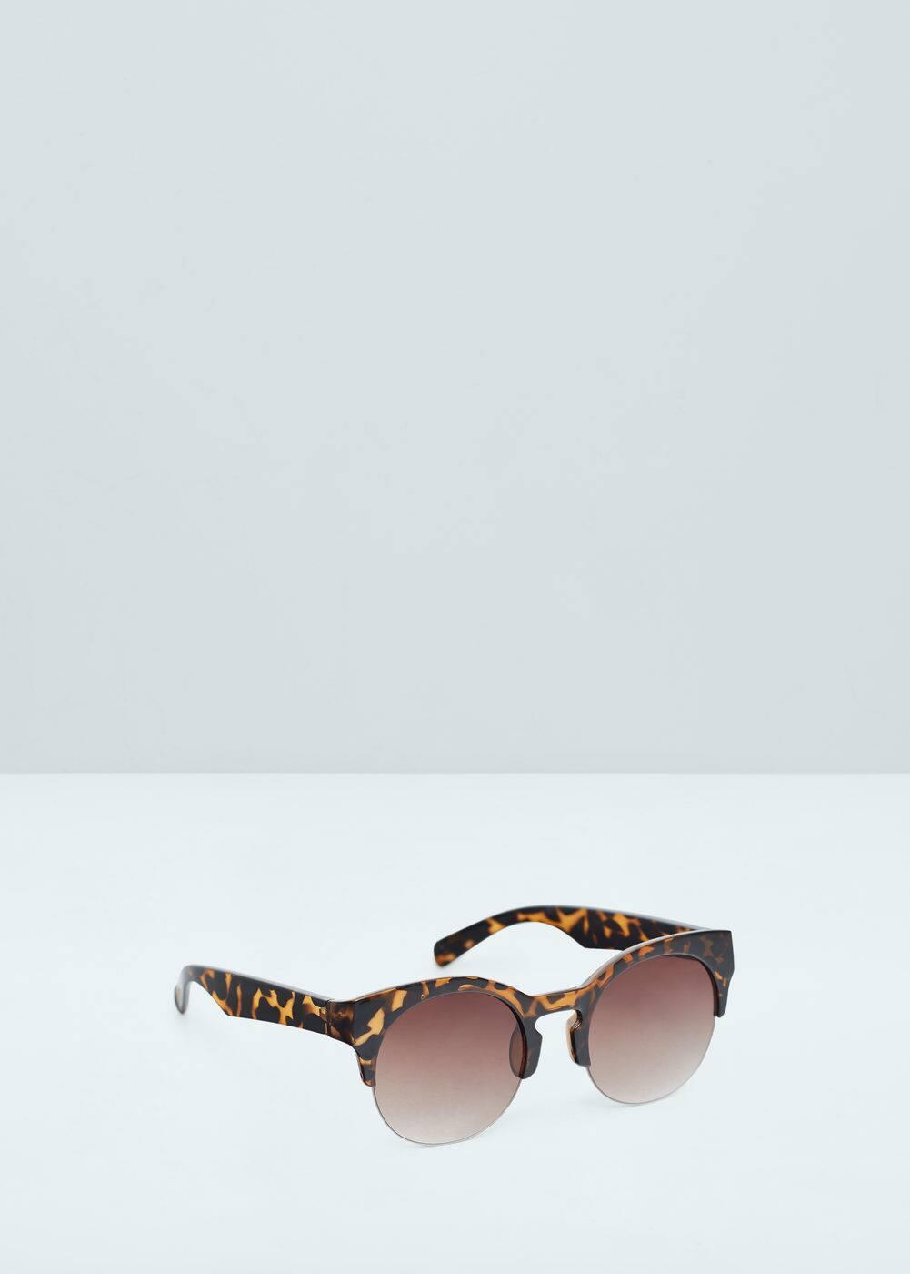 Tortoiseshell retro sunglasses | MANGO