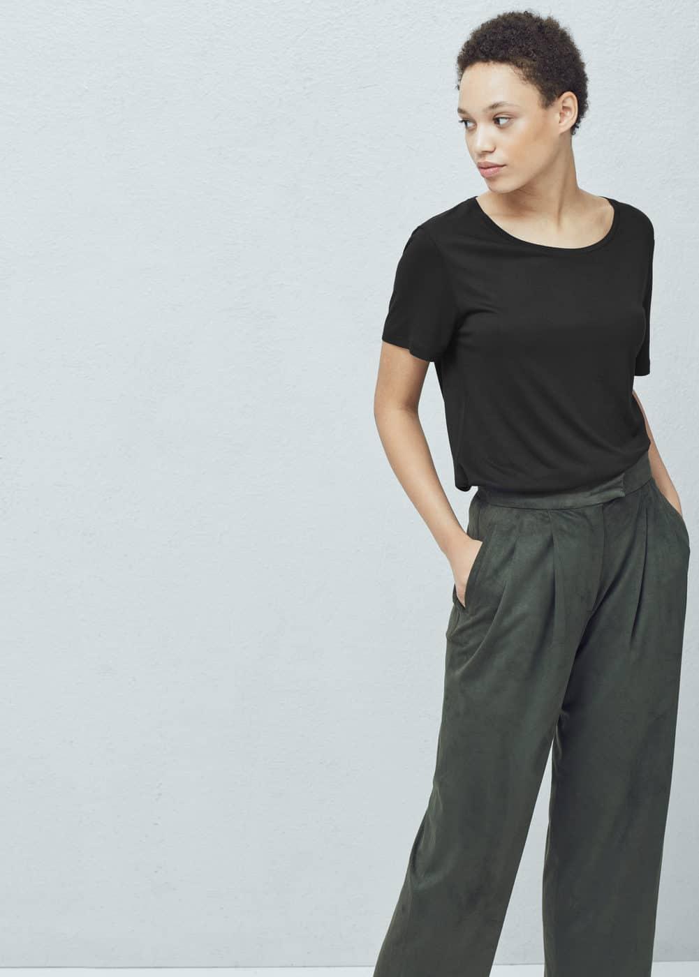 Basic t-shirt   MANGO