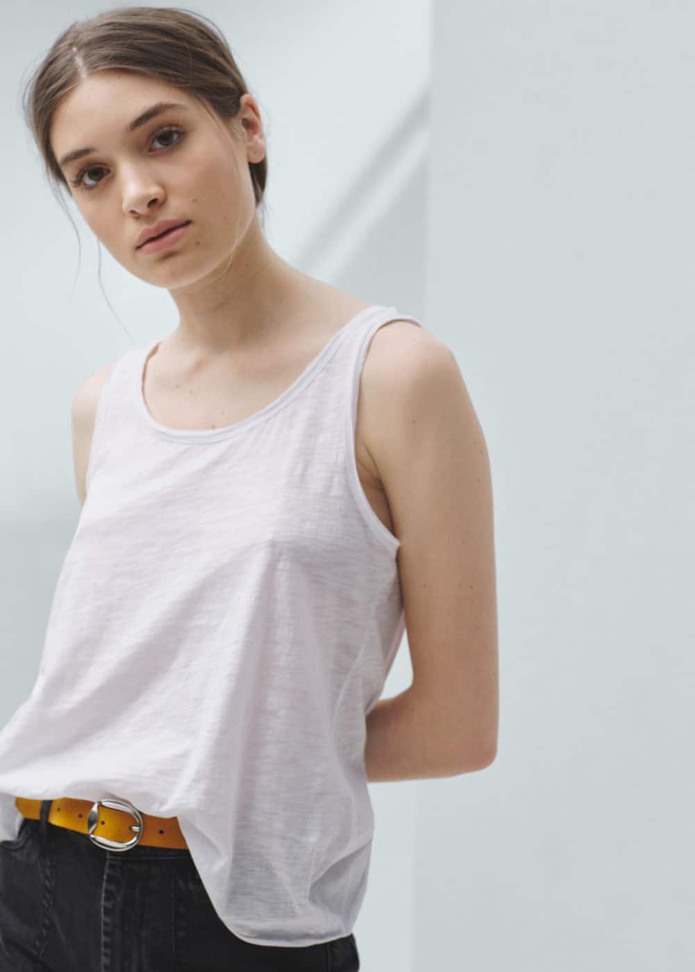 Camiseta algodón | MANGO