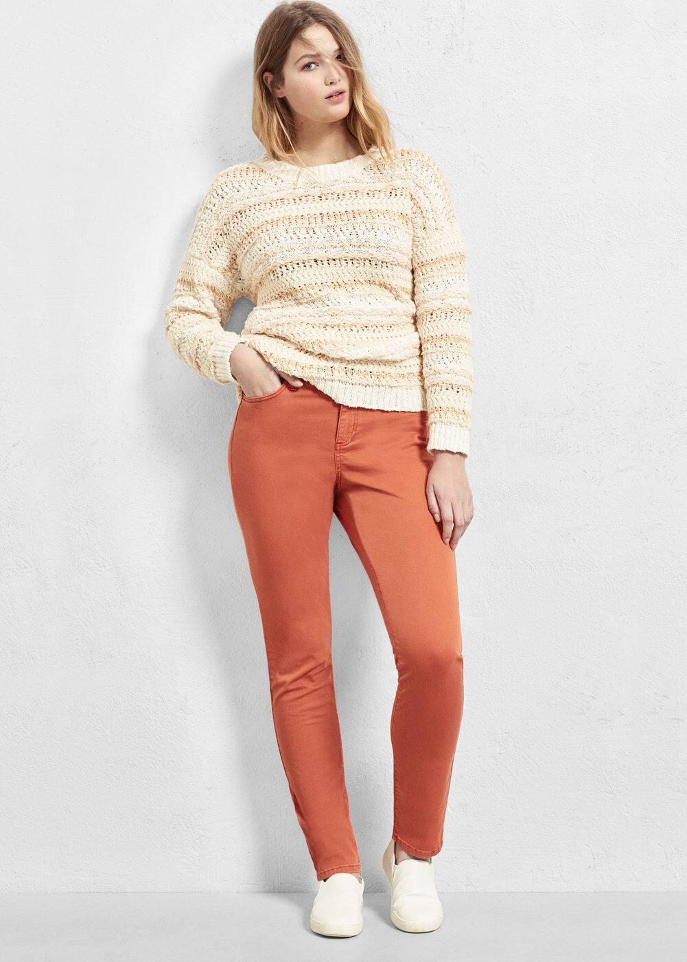 Slim-fit nori jeans | MANGO