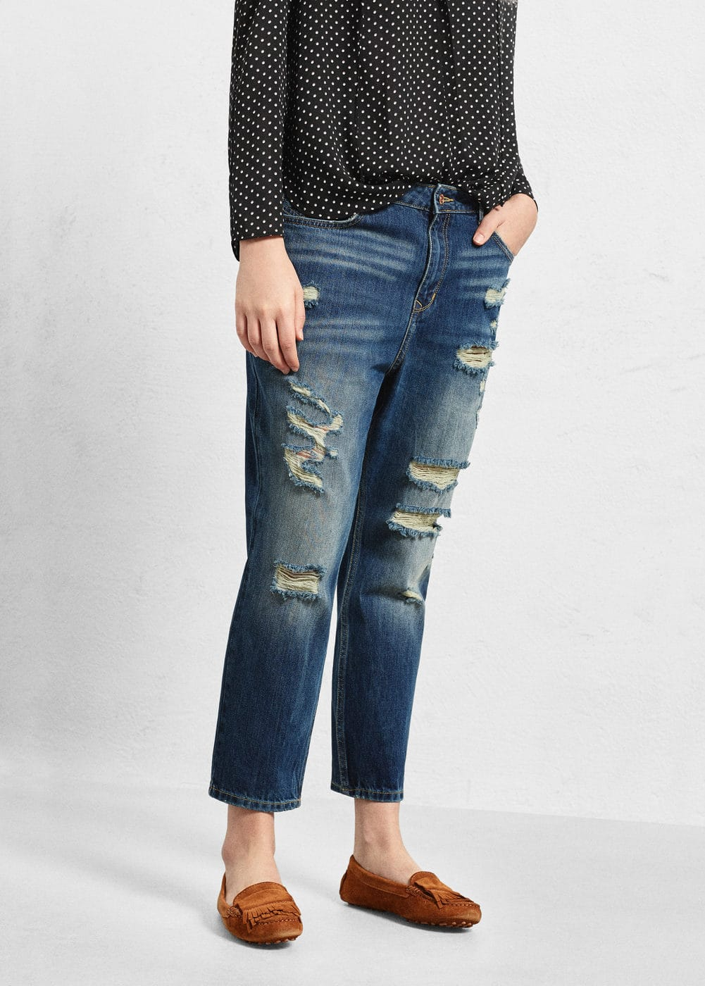 boyfriend jeans claudia jeans gro e gr en outlet. Black Bedroom Furniture Sets. Home Design Ideas