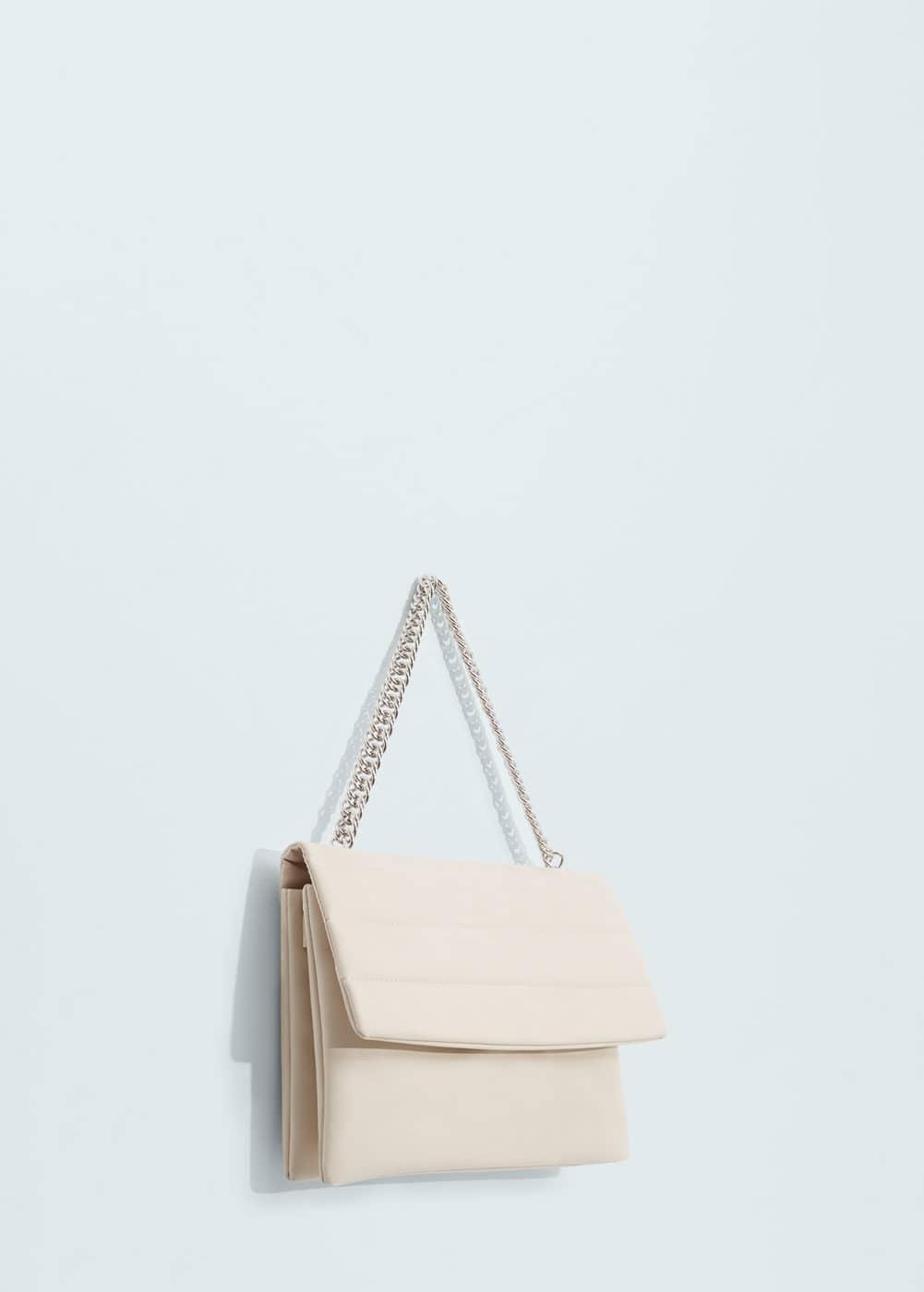 Tasche mit drei fächern   MANGO