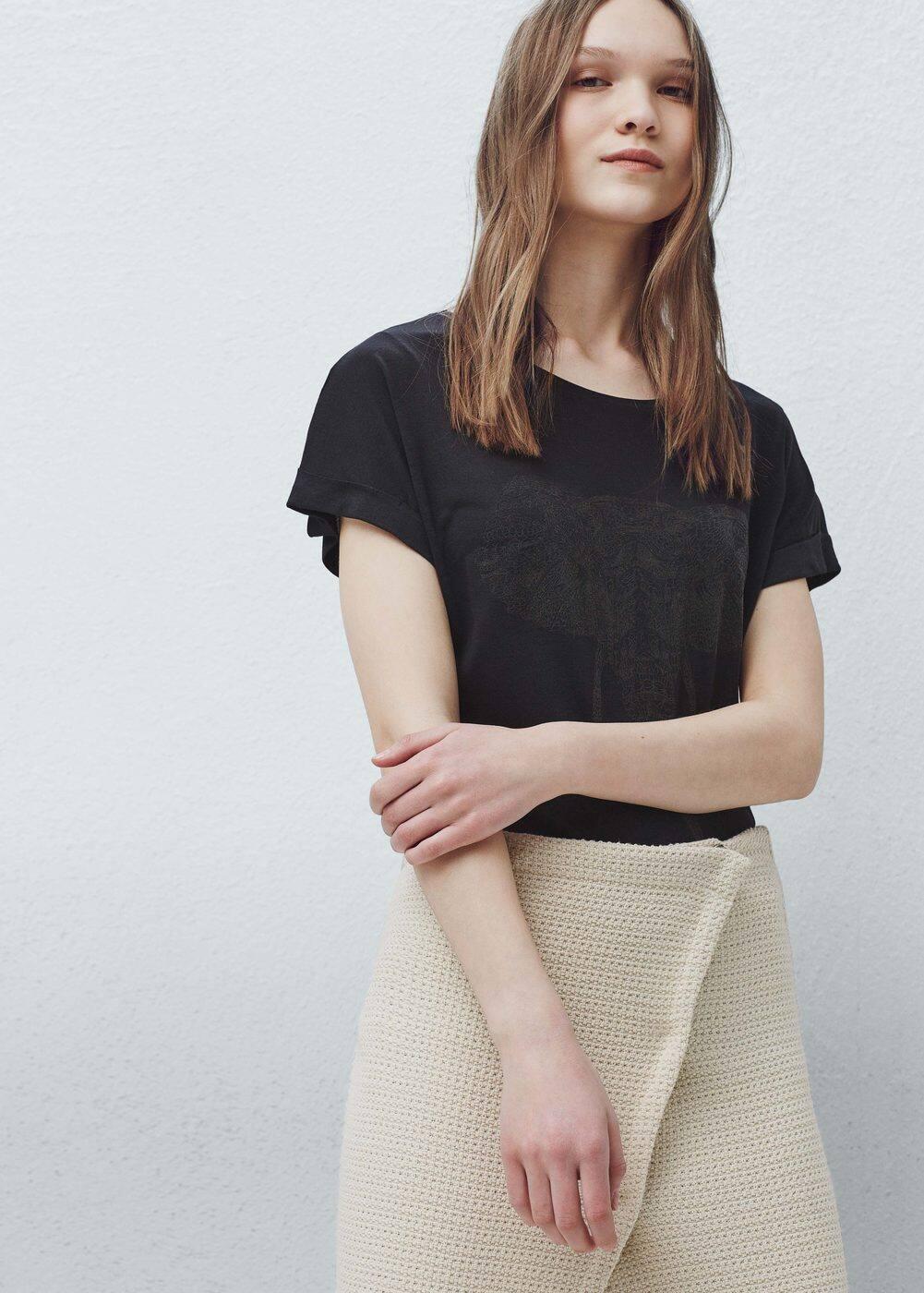 Print t-shirt | MANGO