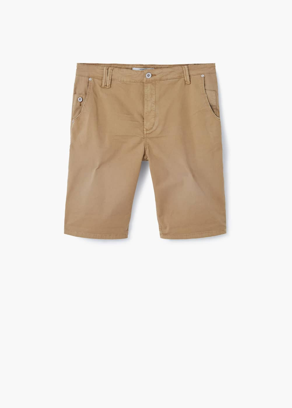 Cotton bermuda shorts | MANGO