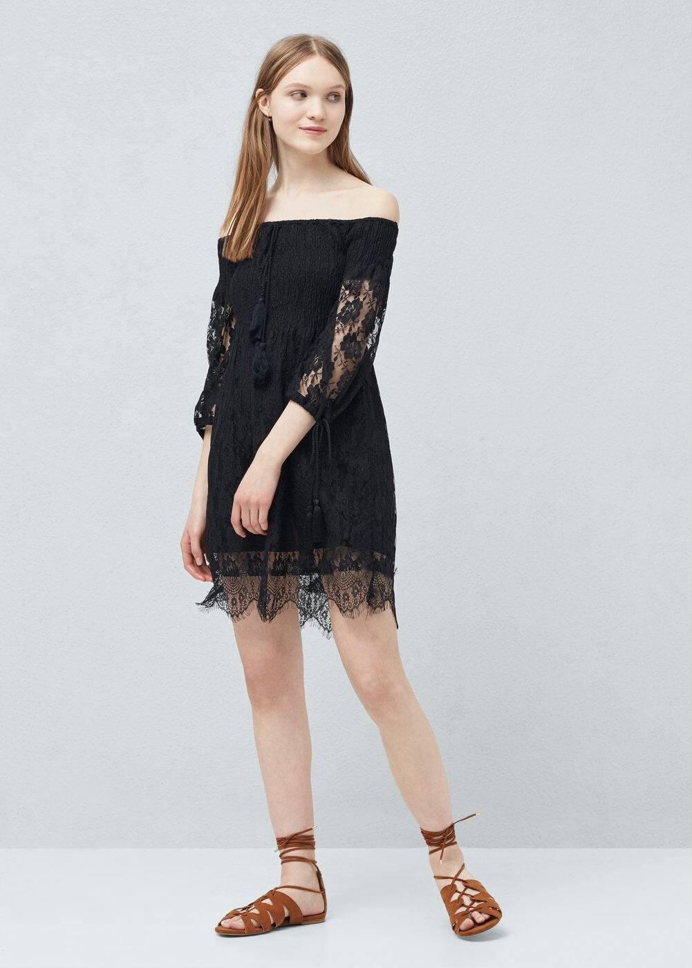 Lace dress | MANGO