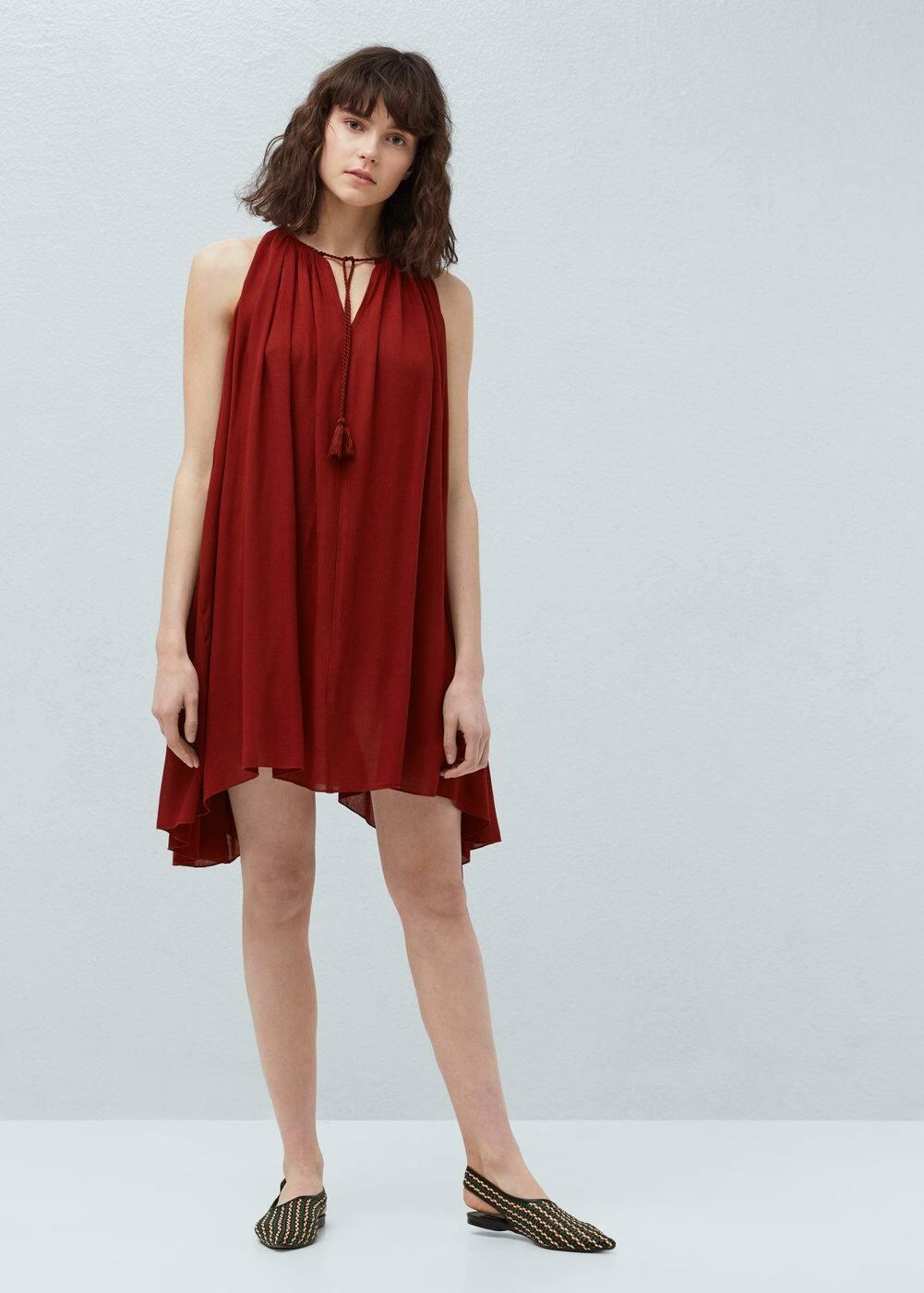 Flowy dress | MANGO