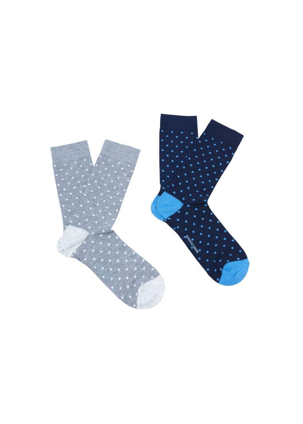 c7019efd1e 2 pack polka-dot socks - Man