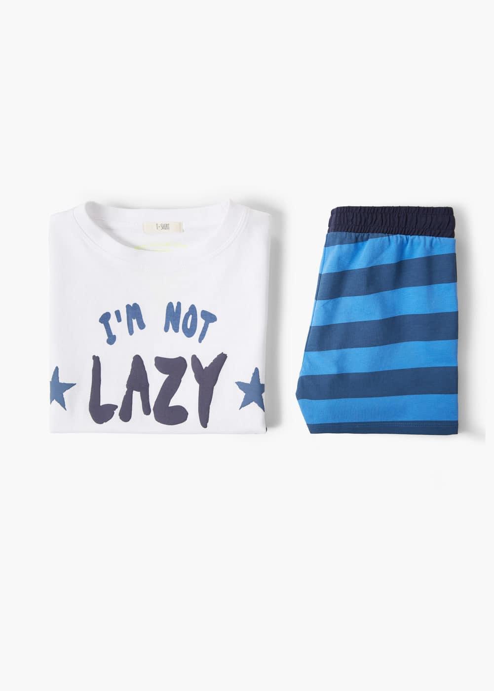 Lange katoenen pyjama   MANGO KIDS