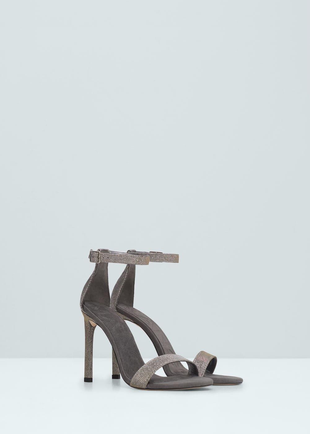 Ankle-cuff sandals | MANGO