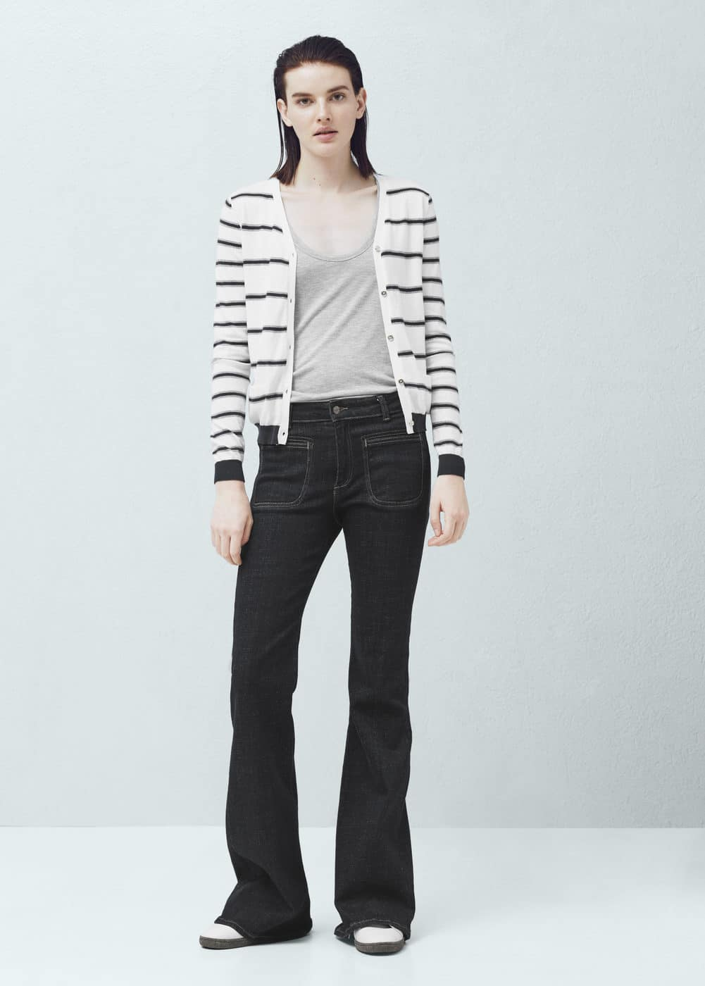 Striped cardigan | MANGO
