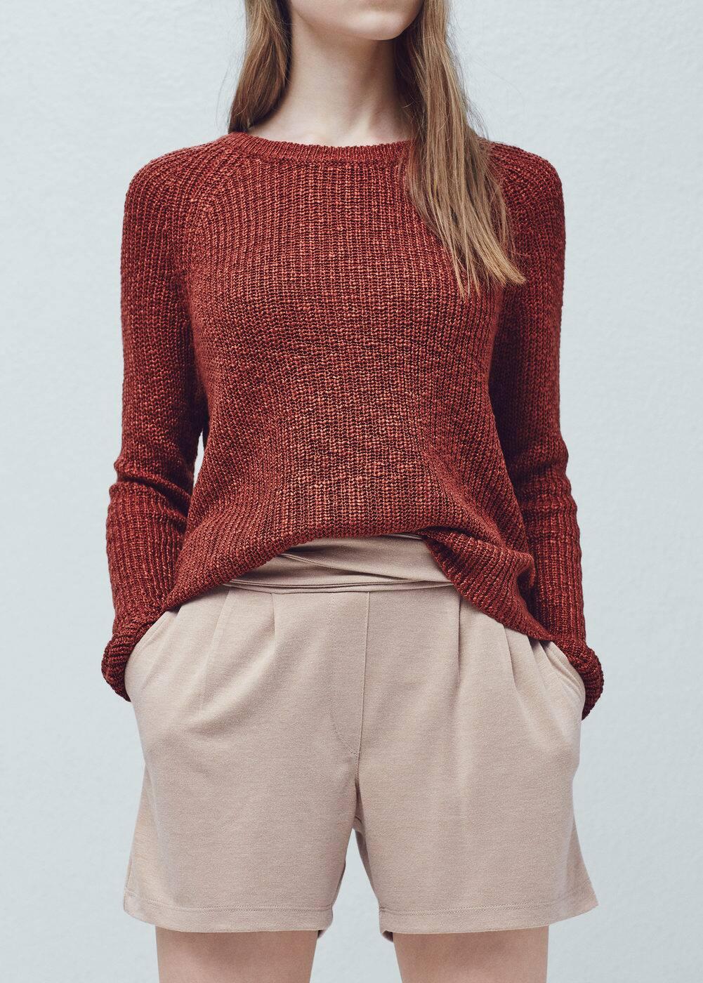 Drawstring waist shorts | MANGO