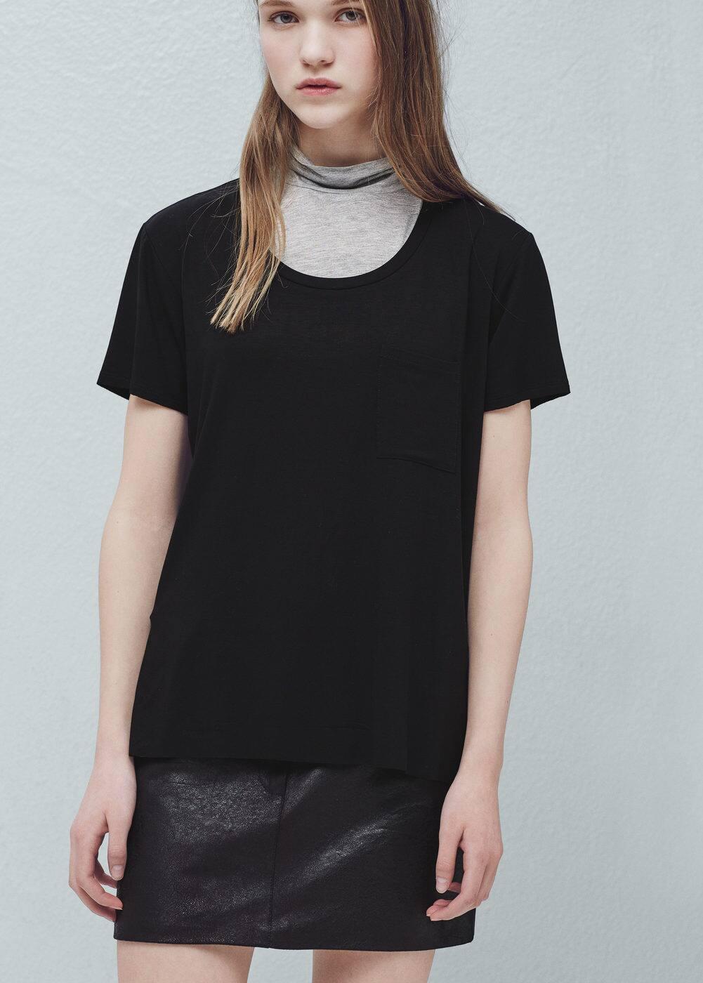 Pocket t-shirt | MANGO