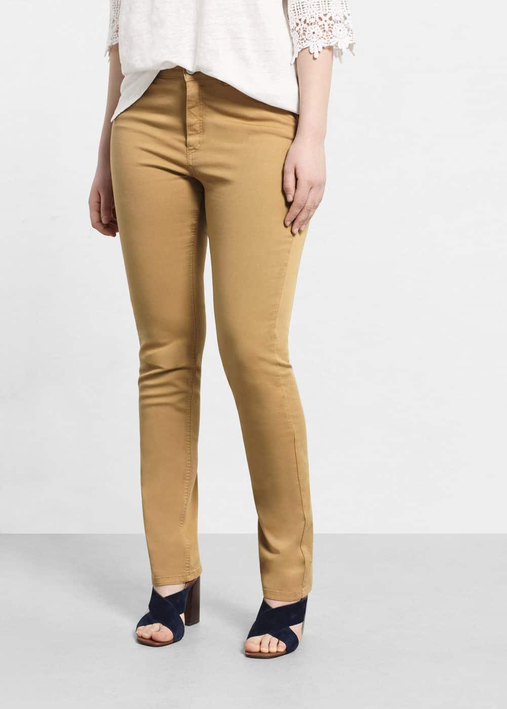 Slim-fit susan jeans | MANGO