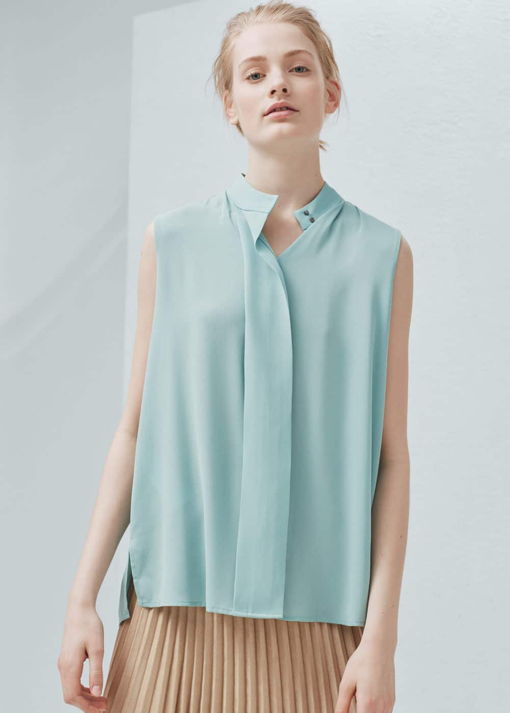 Flowy Blouse Shirts For Women Mango Usa