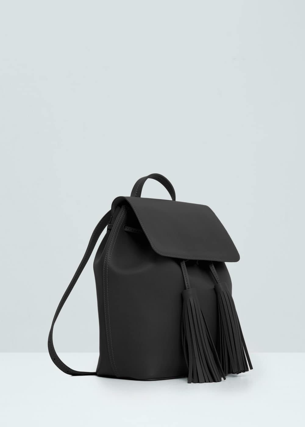 Front lapel backpack | MANGO