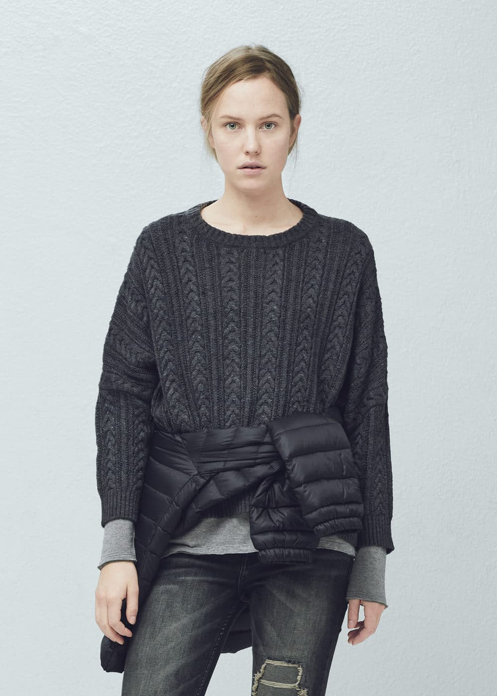 Dolman-sleeve sweater | MANGO