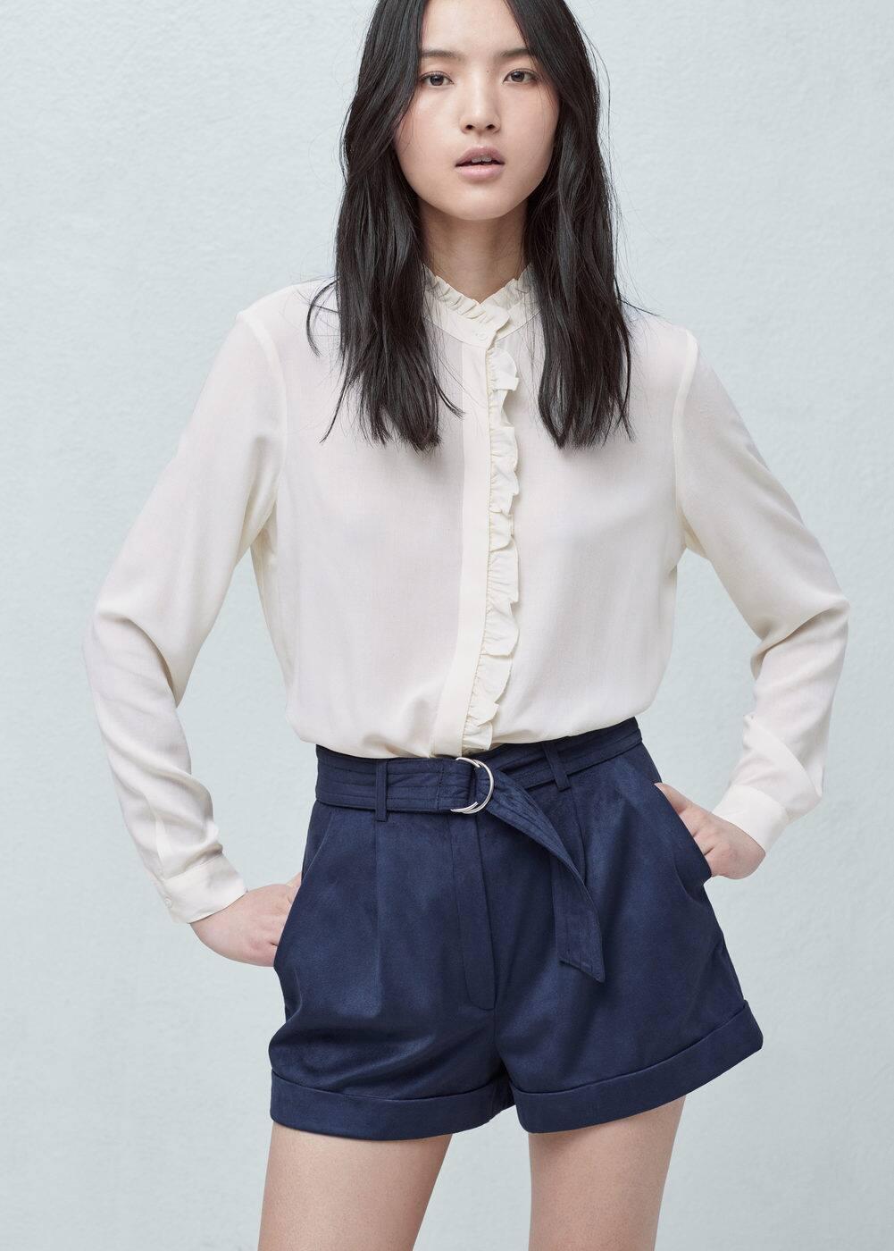 Belt shorts | MANGO